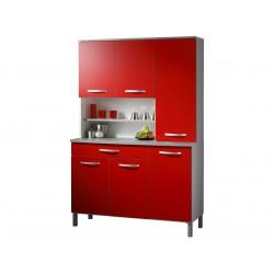 Twist Rouge - Buffet de Cuisine XL 6P 1T