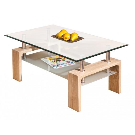 Base Chêne - Table basse