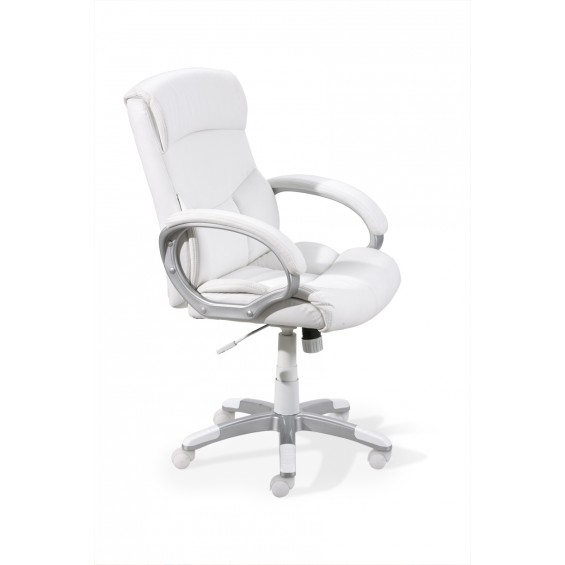 Binch Blanc - Fauteuil de bureau