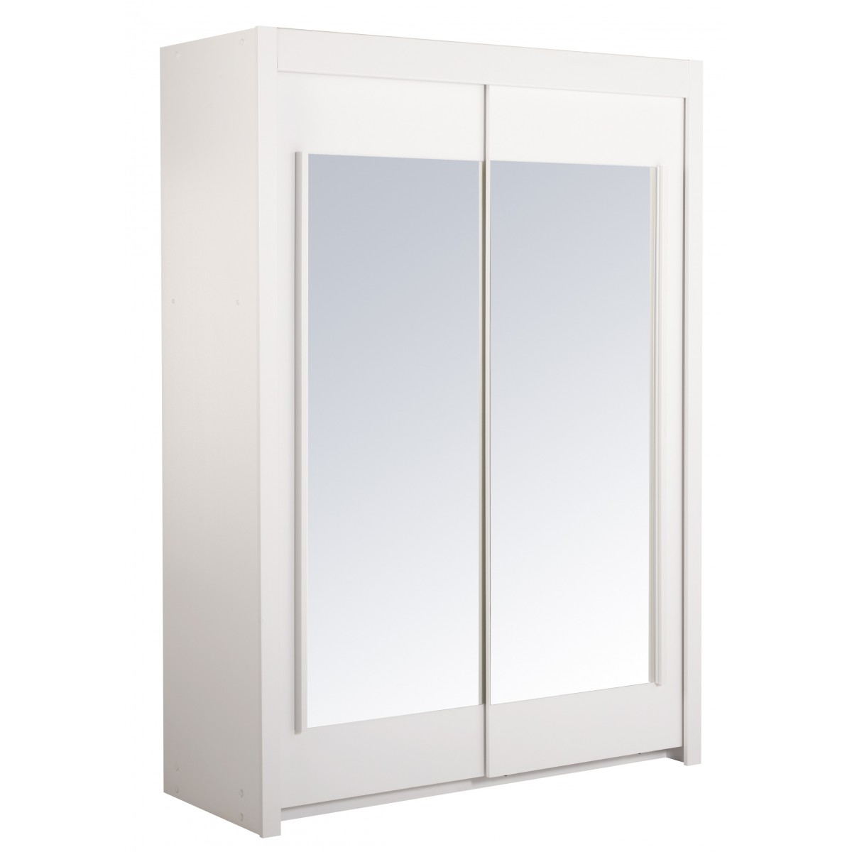 altobuy universal blanc armoire 2 portes coulissantes neuf ebay. Black Bedroom Furniture Sets. Home Design Ideas
