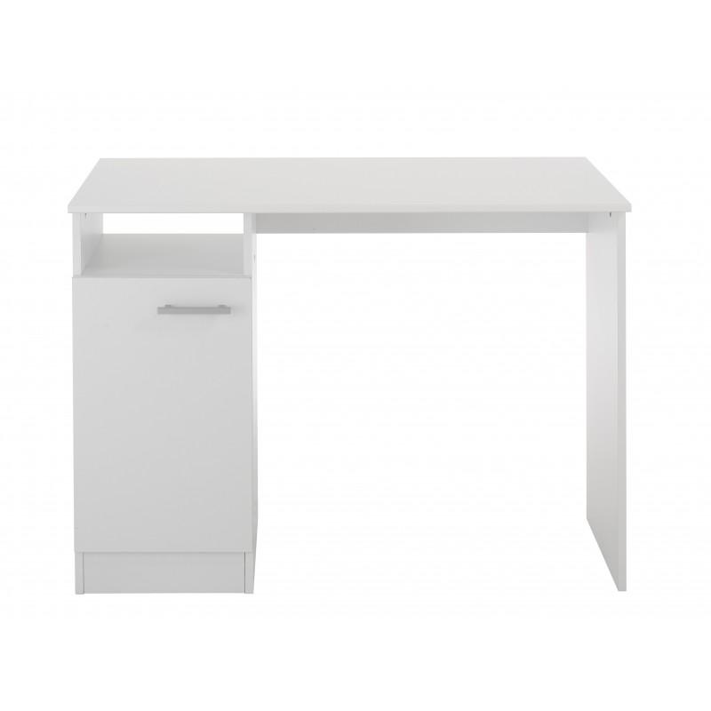 Universal blanc bureau 1 porte - Bureau multimedia blanc ...