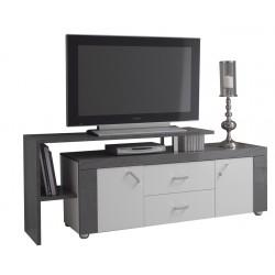 Luna - Meuble TV avec plateau