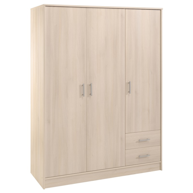 armoire 3 portes but beautiful armoire portes battantes. Black Bedroom Furniture Sets. Home Design Ideas