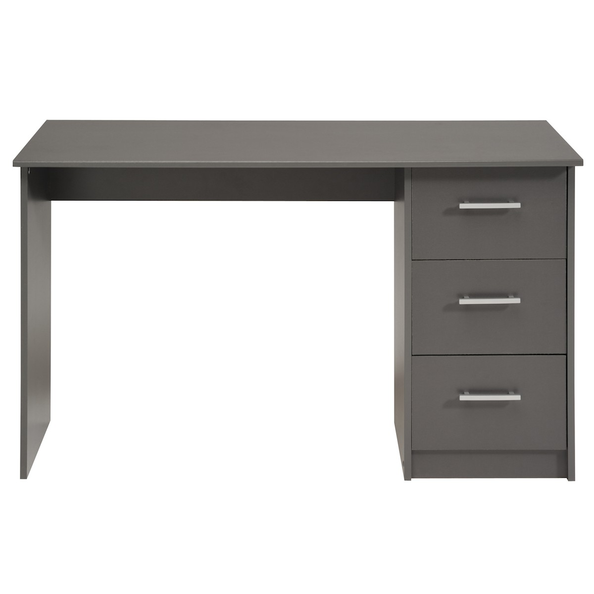 altobuy universal gris bureau 3 tiroirs neuf ebay. Black Bedroom Furniture Sets. Home Design Ideas
