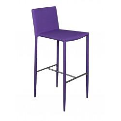 Loola - Tabouret de Bar Violet