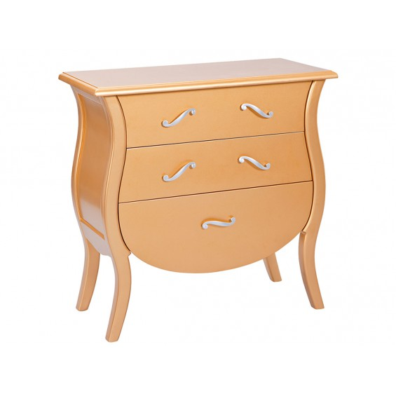 Barroco - Commode Or et Argent