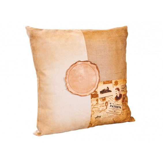"Amely - Coussin ""Patents"""
