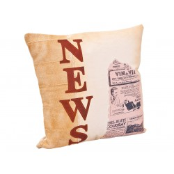 """Amely - Coussin """"News"""""""