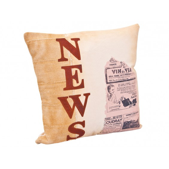"Amely - Coussin ""News"""