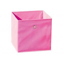 Squareboxx - Bac de Rangement Rose