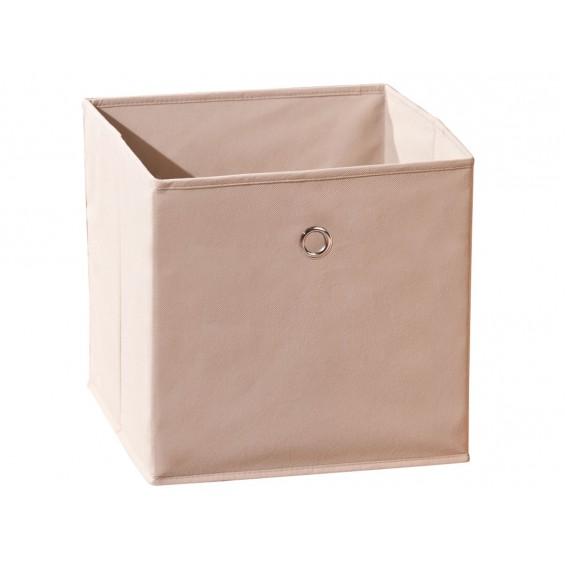 Squarebox - Bac de Rangement Beige