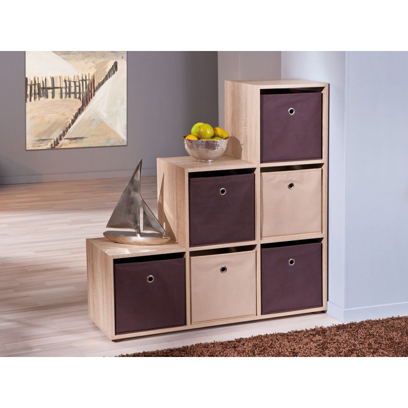 squareboxx bac de rangement beige altobuy meuble. Black Bedroom Furniture Sets. Home Design Ideas