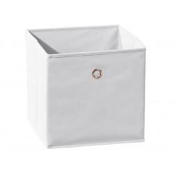 SQUAREBOXX - Bac de Rangement Blanc
