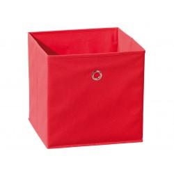 Squareboxx - Bac de Rangement Rouge