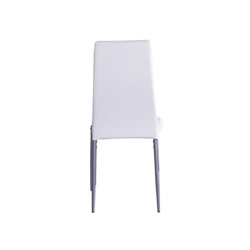 Vision lot de 4 chaises blanches - Lot 4 chaises blanches ...