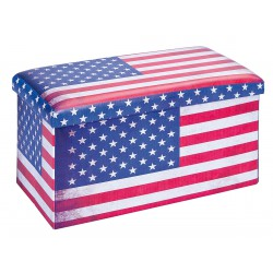 Warren XL - Pouf Coffre Pliant USA