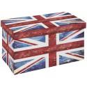 Warren XL - Pouf Coffre Pliant Union Jack