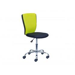 NEO - Chaise de Bureau Verte et Noire