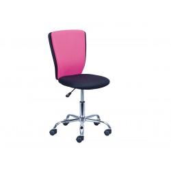 Neo - Chaise de Bureau Rose et Noire