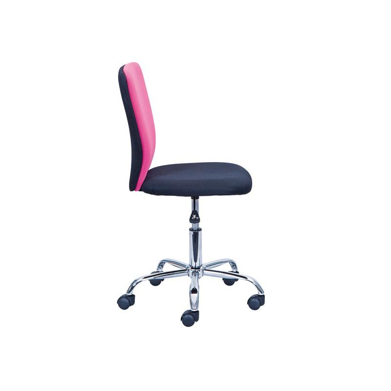 neo chaise de bureau rose et noire. Black Bedroom Furniture Sets. Home Design Ideas