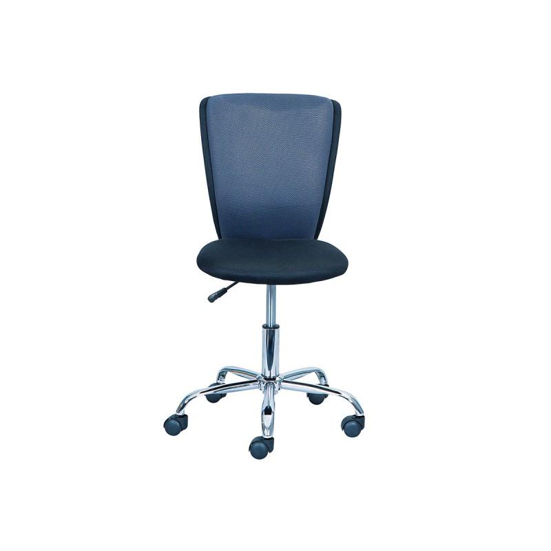 Chaise de bureau grise maison design for Chaise blanche et grise