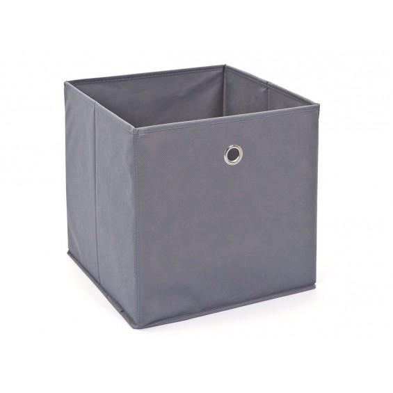 Squareboxx - Bac de Rangement Gris