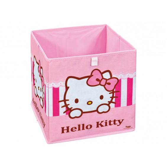 "Hello Kitty - Bac de Rangement ""Pink"""