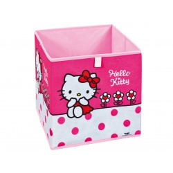 "Hello Kitty - Bac de Rangement ""Fleur"""