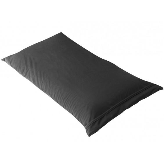 Fresh - Taie d'Oreiller 60x40cm Noire - Imperméable et Respirante