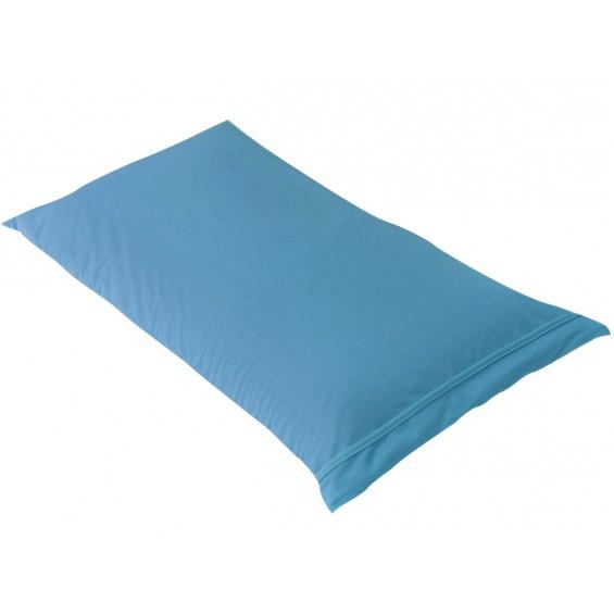 Fresh - Taie d'Oreiller 60x60cm Turquoise - Imperméable et Respirante