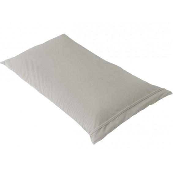 Fresh - Taie d'Oreiller 60x60cm Taupe - Imperméable et Respirante