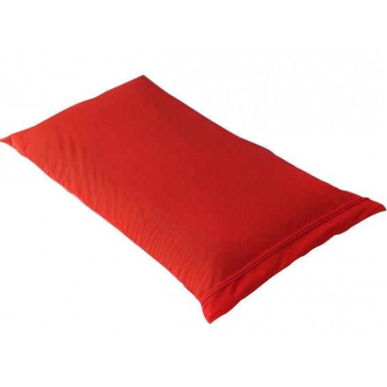 Fresh - Taie d'Oreiller 60x60cm Rouge - Imperméable et Respirante