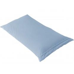 FRESH - Taie d'Oreiller 60x60cm Bleu Ciel Imperméable et Respirante
