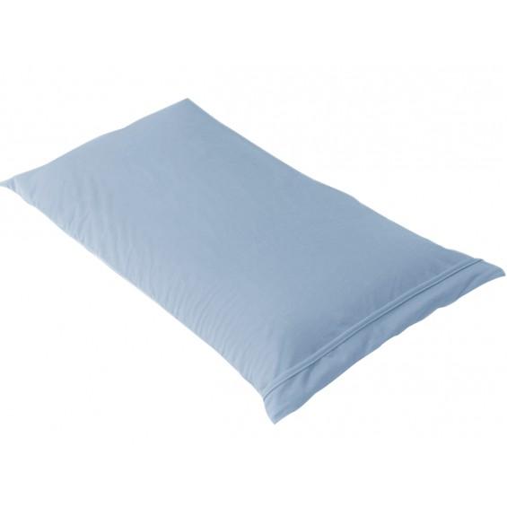Fresh - Taie d'Oreiller 60x60cm Bleu Ciel - Imperméable et Respirante