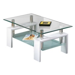 Base Blanc - Table basse