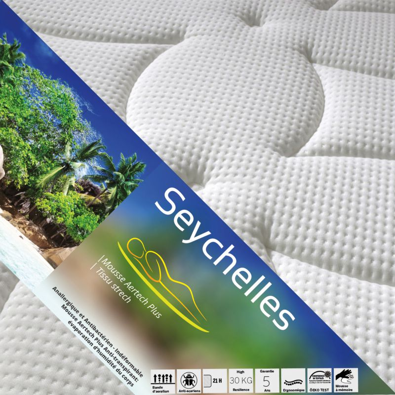 seychelles pack matelas altoflex 90x200 pieds. Black Bedroom Furniture Sets. Home Design Ideas