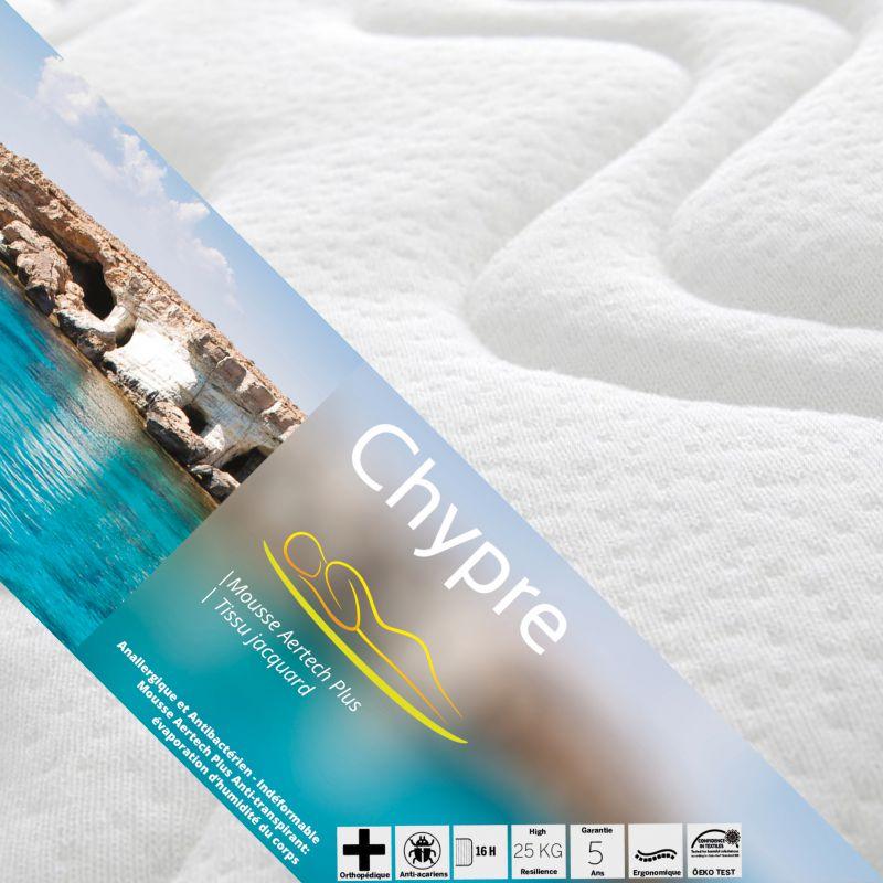 chypre pack matelas tapissier 80x190. Black Bedroom Furniture Sets. Home Design Ideas