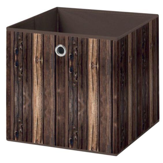 Wood - Bac de Rangement 'B'