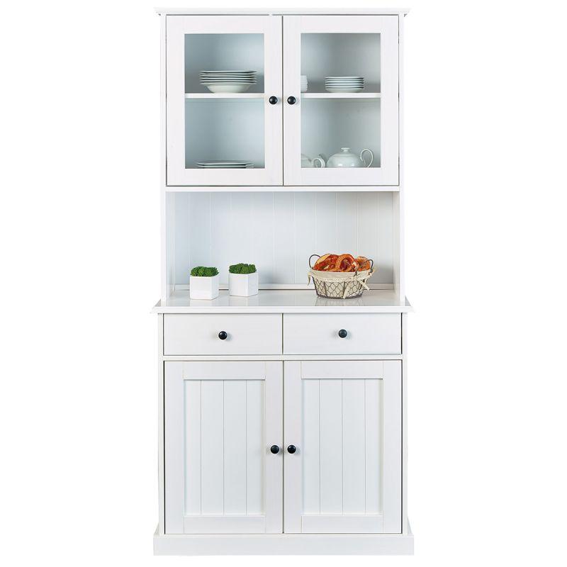 bidart buffet vaisselier 4 portes 2 tiroirs. Black Bedroom Furniture Sets. Home Design Ideas