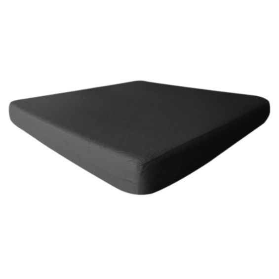 Fresh - Drap Housse 200x200cm Noir - Imperméable et Respirant