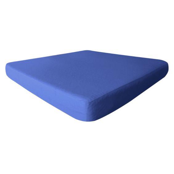 Fresh - Drap Housse 80x190cm Bleu Azur - Imperméable et Respirant