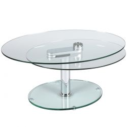 Valeska - Table Basse Ovale