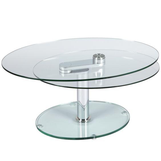 Valeska - Table Basse Ovale