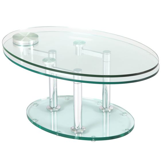 Vivia - Table Basse Ovale