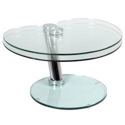 VEGA - Table Basse Ovale