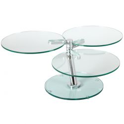 VIKI - Table Basse Ronde