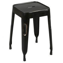 Tolga - Tabouret Noir