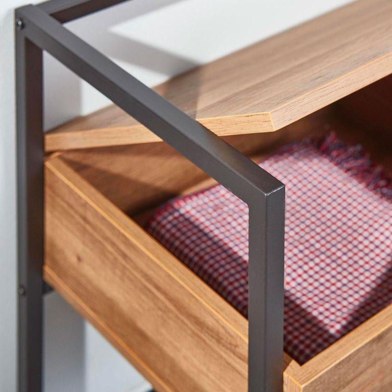 selah banc chaussures avec coffre de rangement meuble. Black Bedroom Furniture Sets. Home Design Ideas