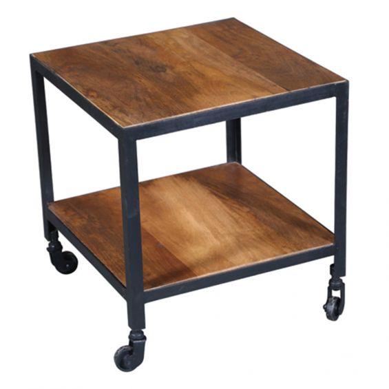 Bosque - Table Basse à roulettes