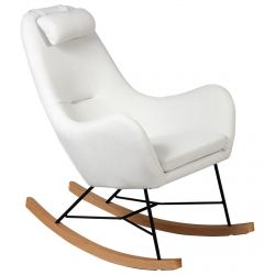 Rosa - Rocking-Chair Beige